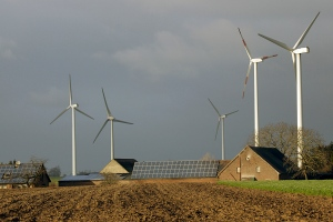 Germany-wind-turbines-photovoltaic-panels