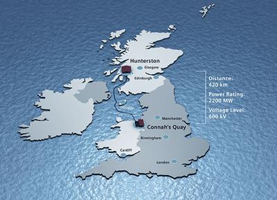 Siemens to increase power transmission capacity between England