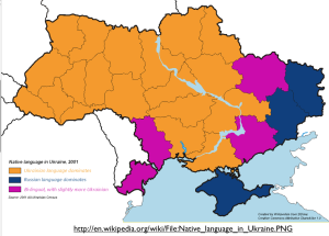 Ukraine-Language-Map-