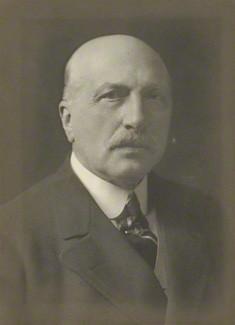 NPG x162215; Reginald Baliol Brett, 2nd Viscount Esher by Walter Stoneman