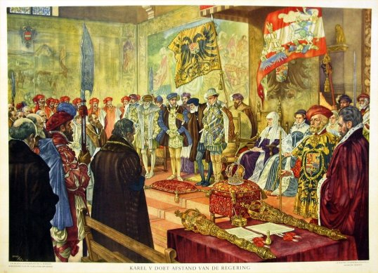 Charles-V-abdicates