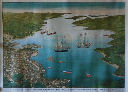 Dutch-ships-Nagasaki-1825