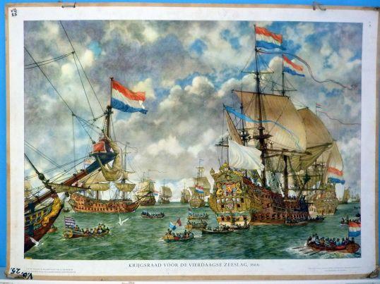 Krijgsraad-voor-de-vierdaagse-zeeslag-1666
