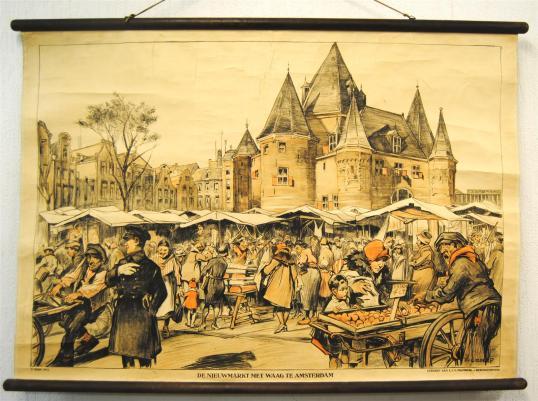 nieuwmarkt-amsterdam-1930