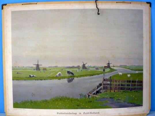 Polder-landschap-in-Zuid-Holland