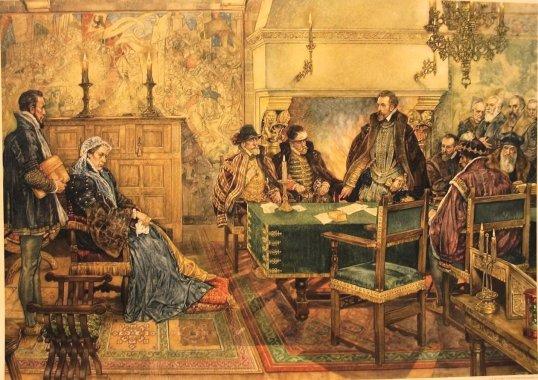 Willem van Oranje in de raad van state