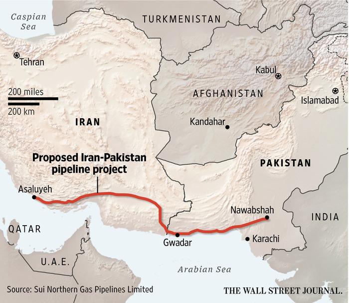 Iran-China Pipelines | DeepResource