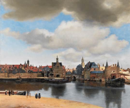 Vermeer-view-of-delft-1660